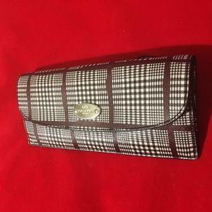 COACH Peyton Glen Plaid Slim Envelope Wallet 53731